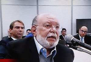 O ex-presidente da OAS Léo Pinheiro Foto: Reprodução / Agência O Globo