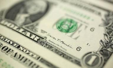 Dólar, a moeda oficial dos Estados Unidos Foto: Andrew Harrer / Bloomberg