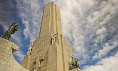 Monumento à Bandeira, um dos pontos turísticos de Rosário, na Argentina Foto: Wikimedia Commons / Reprodução