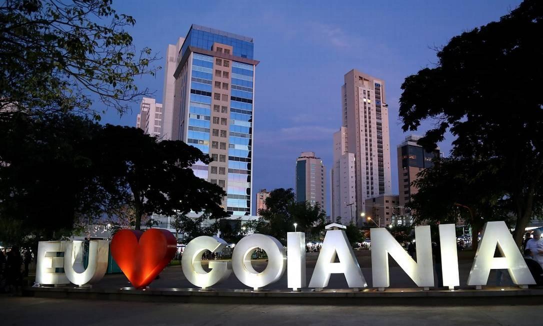 A capital de Goiás costuma surpreender os visitantes, apesar de estar fora do mapa turístico brasileiro Foto: Custódio Coimbra / Agência O Globo