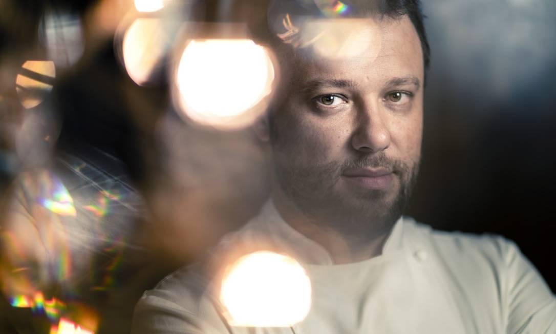 Thomas Troisgros, chef do Olympe Foto: Leo Martins / Agência O Globo