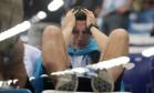 No estádio Nizhny Novgorod, a tristeza argentina tomou conta da arquibancada Foto: IVAN ALVARADO / REUTERS