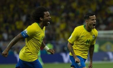 O Brasil enfrenta a Costa Rica em São Petersburgo, hoje às 9h Foto: Alexandre Cassiano / Agência O Globo