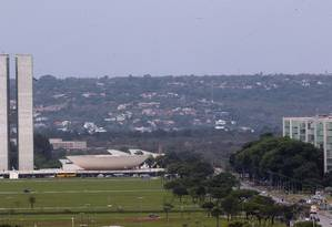 Esplanada dos Ministérios, em Brasília Foto: Givaldo Barbosa/Agência O Globo/01-10-2015