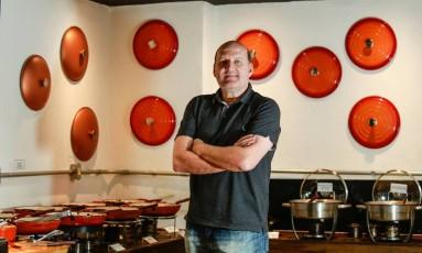 Antonio Perico, o Tó. Restaurateur diz que o Da Silva é uma marca muito identificada com a Zona Sul Foto: Brenno Carvalho / Agência O Globo