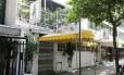 Fachada do restaurante Antiquarius, no Leblon, que fechou as portas Foto: Guilherme Pinto / Agência O Globo