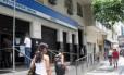 INSS: atendimento ao público nas agências será suspenso nos turnos dos jogos, mas servidores poderão trabalhar Foto: Agência O Globo