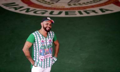 O carnavalesco Leandro Vieira vai para seu quarto carnaval na Estação Primeira de Mangueira Foto: Roberto Moreyra/14/-07-2017