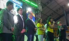 Bolsonaro faz pré-campanha em Campina Grande (PB) 21/06/2018 Foto: Bruno Abbud/ Agência O GLOBO