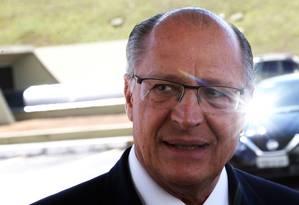 O pré-candidato do PSDB à Presidência da República, Geraldo Alckmin 20/06/2018 Foto: Givaldo Barbosa / Agência O Globo