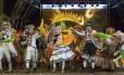 No estacionamento. A festa junina do Nova América será realizada em seis dias do mês de julho Foto: Divulgação