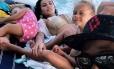 Zúniga de férias com a família Foto: Reprodução