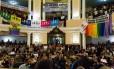 Na votação do Plano Municipal de Educação, em 2016, manifestações contra e a favor a emenda que veta a discussão nas escolas Foto: Sérgio Gomes / Câmara Municipal de Niterói
