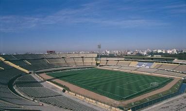 Estádio Centenário, o principal do futebol uruguaio, em Montevidéu Foto: Ministério do Turismo do Uruguai / Divulgação