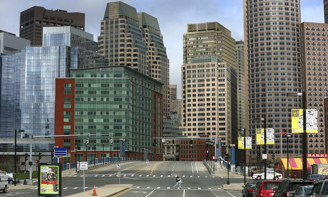 A participação do cidadão é um dos principais focos das iniciativas de melhoria da vida na cidade americana de Boston. O aplicativo Nova Mecânica Urbana abriu espaço para troca de informações entre a população e a prefeitura em diversos níveis. Foto: John Tlumacki