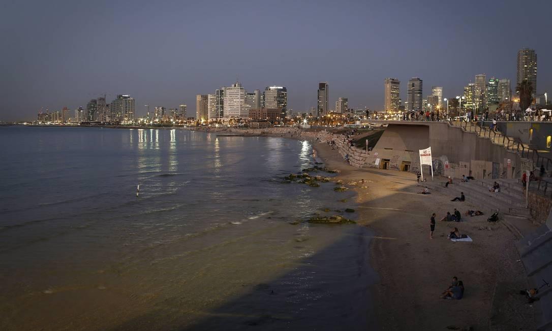 Tel Avi, em Israel, é conhecida como a capital das startups. Estimulada pelo poder público, a população participa ativamente das discussões sobre desenvolvimento sustentável e intervenções urbanas Foto: Pablo Jacob / Agência O Globo