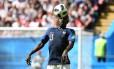 N'Golo Kanté é titular da França na Copa da Rússia Foto: KIRILL KUDRYAVTSEV / AFP