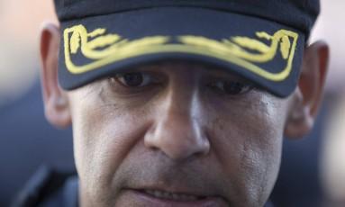 Coronel Luiz Claudio Laviano condicionou a redução das mortes à mudança de atitude de criminosos Foto: Márcia Foletto / Agência O Globo