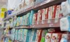 Variedade. Fraldas no supermercado Mundial de Copacabana, no Rio: recuo de 20% a 30% nas vendas Foto: Márcia Foletto / Márcia Foletto