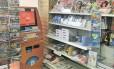 Conveniência. Terminal eletrônico instalado em estabelecimento comercial de Londres permite a compra de criptomoeda com libras Foto: Ana Paula Ribeiro