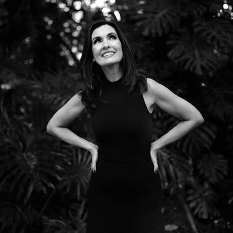 A apresentadora Fátima Bernardes Foto: Leo Aversa / Agência O Globo