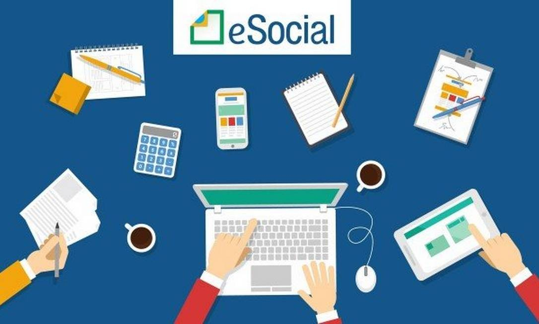 O eSocial simplifica a prestação de informações trabalhistas ao governo federal Foto: Foto: Reprodução