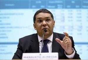 O secretário do Tesouro Nacional, Mansueto Almeida, durante entrevista Foto: Gustavo Raniere/Ministério da Fazenda