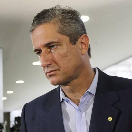 O deputado Rogério Rosso (PSD-DF), durante entrevista Foto: Givaldo Barbosa/Agência O Globo/25-01-2017