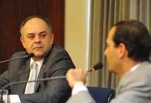 Laurence Casagrande Lourenço (à dir.), ex-secretário de Transportes e Logística do ex-governardor Geraldo Alckmin e ex-presidente da Dersa Foto: Divulgação