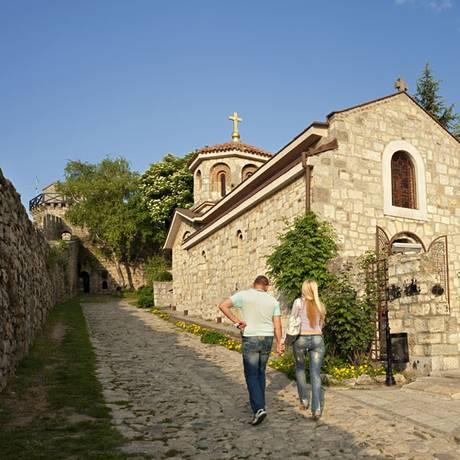 Igreja dentro do complexo histórico da Fortaleza de Kalemegdan, em Belgrado, capital da Sérvia Foto: Tourism Organization of Belgrade / tob.rs / Reprodução