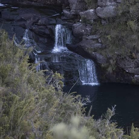 A bela cachoeira das Flores Foto: Márcia Foletto / Agência O Globo