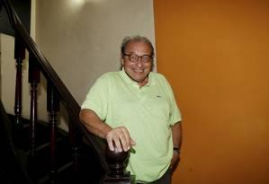 Ruy Castro em janeiro de 2018 Foto: Marcos Ramos / Agência O Globo