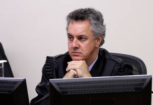 O desembargador João Pedro Gebran Neto, durante julgamento do TRF-4 Foto: Sylvio Sirangelo/TRF4/24-01-2018