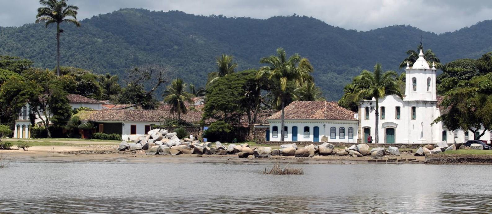 O Centro Histórico de Paraty: cidade vai receber a Flip de 25 a 29 de julho Foto: Luiz Ackermann / Agência O Globo