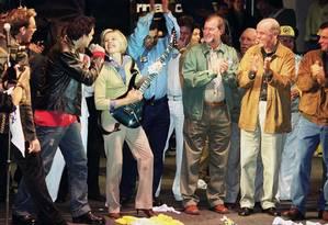 Partidos entram com ação no STF para liberar showmícios Foto: Carlos Roberto