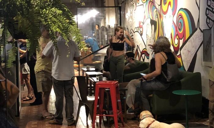 Pé Sujo: Mãe Joana Foto: Juarez Becoza / O Globo