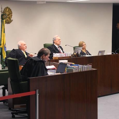 Sessão extarordinária da segunda turma do STF Foto: STF / Divulgação