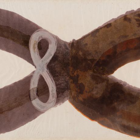 Obra 'Infinito', de Tunga, faz parte da Coleção MAR Foto: Divulgação