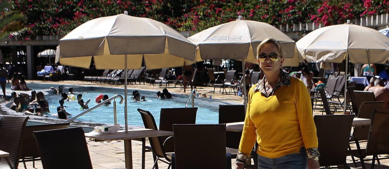 Magda Mofatto é dona em Caldas Novas, Goiás, de negócios milionários, que incluem parques temáticos, 11 condomínios, dois hotéis e uma construtora Foto: Jorge William / Agência O Globo