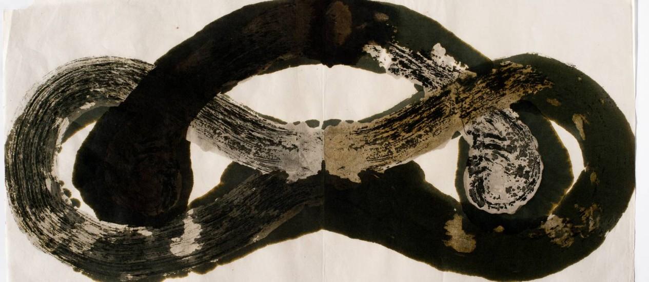 'Palíndromo incesto', uma das obras em exposição na mostra 'Tunga — O rigor da distração', no MAR Foto: Daniela Paoliello/Divulgação