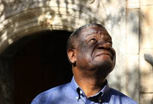Ginecologista congolês Denis Mukwege, conhecido como o