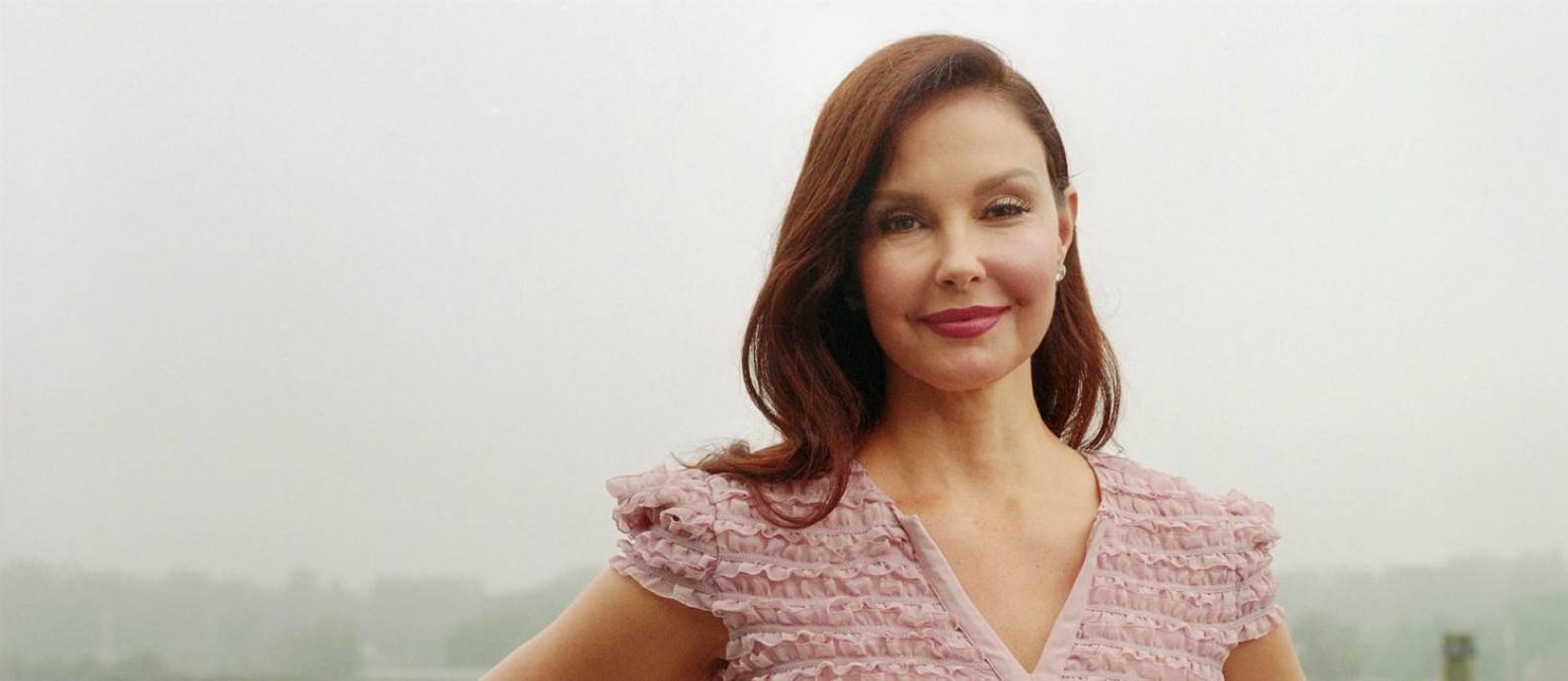 """Ashley Judd, de 50 anos, foi a primeira atriz a denunciar Harvey Weinstein, em reportagem de 5 de outubro no """"New York Times"""" Foto: HEATHER STEN / NYT"""