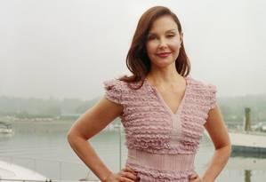 Ashley Judd, de 50 anos, foi a primeira atriz a denunciar Harvey Weinstein, em reportagem de 5 de outubro no