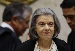 A presidente do Supremo, ministra Cármen Lúcia Foto: Jorge William / Agência O Globo