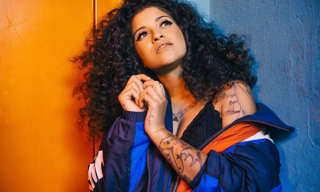 A cantora brasileira radicada em Portugal Blaya Foto: Divulgação