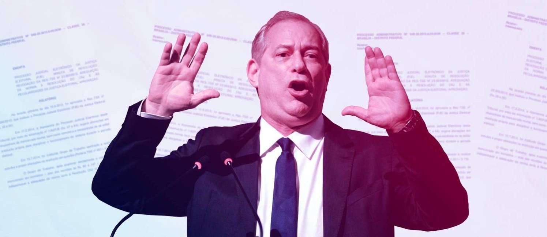 O presidenciável Ciro Gomes Foto: Arte / O Globo