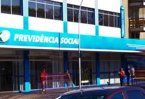 Agência do INSS na Asa Sul, em Brasília Foto: Jorge William/Agência O Globo/18-08-2018