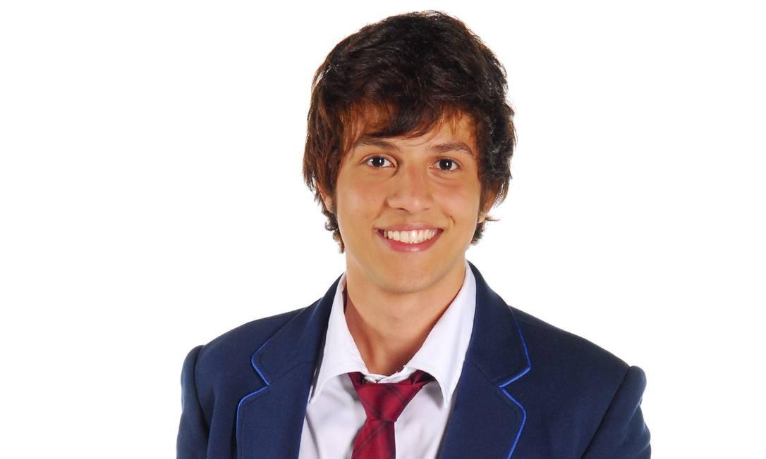 """""""Rebelde"""" (2011/12). Na estreia como ator, na Record, ele interpretou Tomás, um dos protagonistas da trama. O sucesso entre o público juvenil foi tanto que o elenco rodou o país em shows musicais. Foto: Divulgação/Record"""