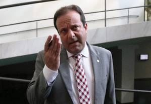 Deputado André Moura, líder do governo Temer no Congresso Foto: Ailton de Freitas / Agência O Globo/20-02-2017