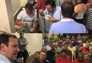 Candidato a governador, Eduardo Paes cumpre agenda política em Maricá Foto: Divulgação